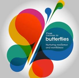 Cocoons to butterflies workshop with Emma Ballard
